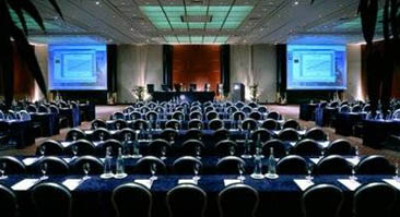 Onsite Video Conferencing Setup in Hotel Ballroom - Sample