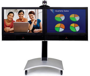 Polycom HDX 7000 with Dual Monitors