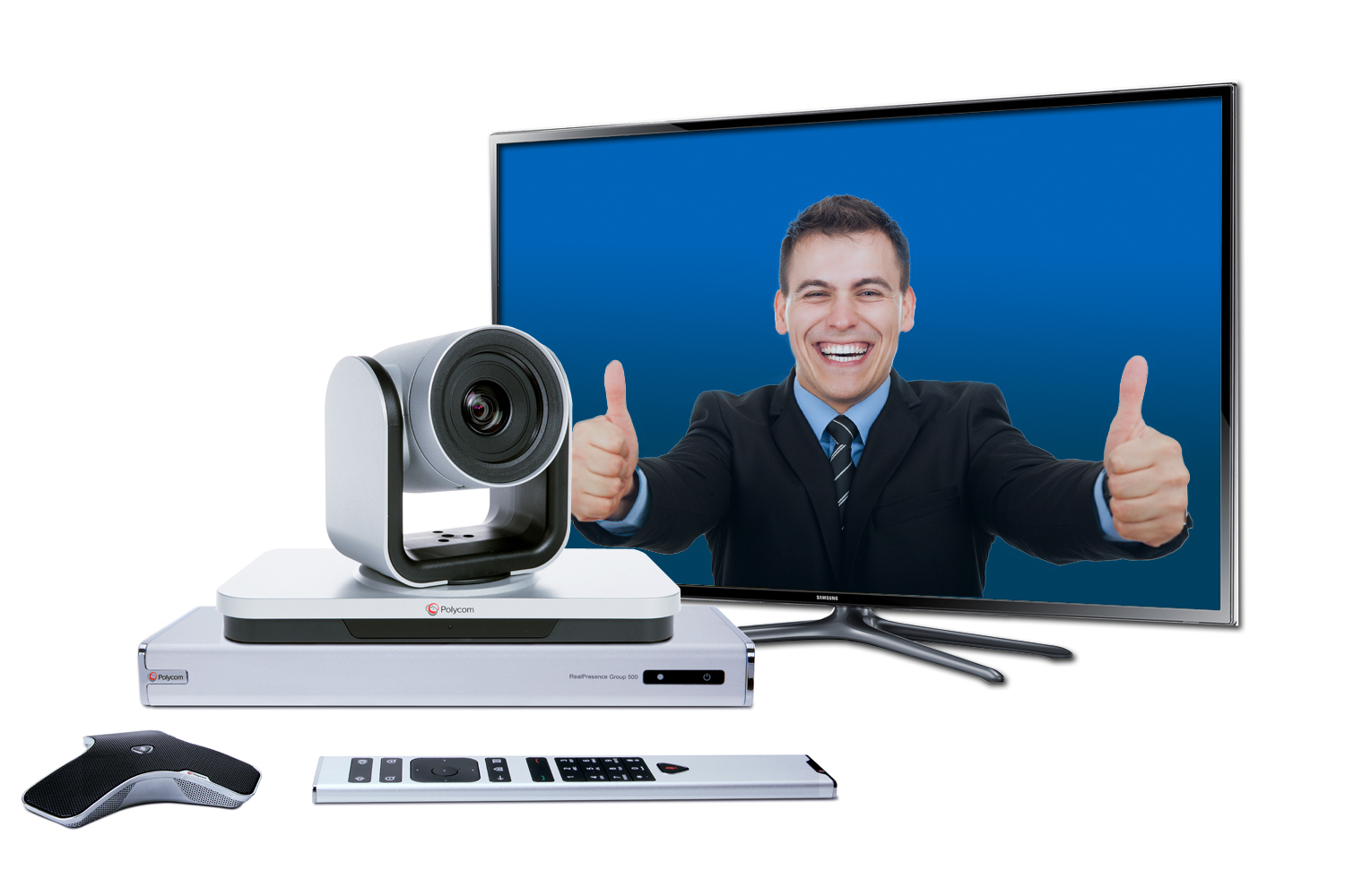 Polycom Group 500 Video Conferencing System Promotion