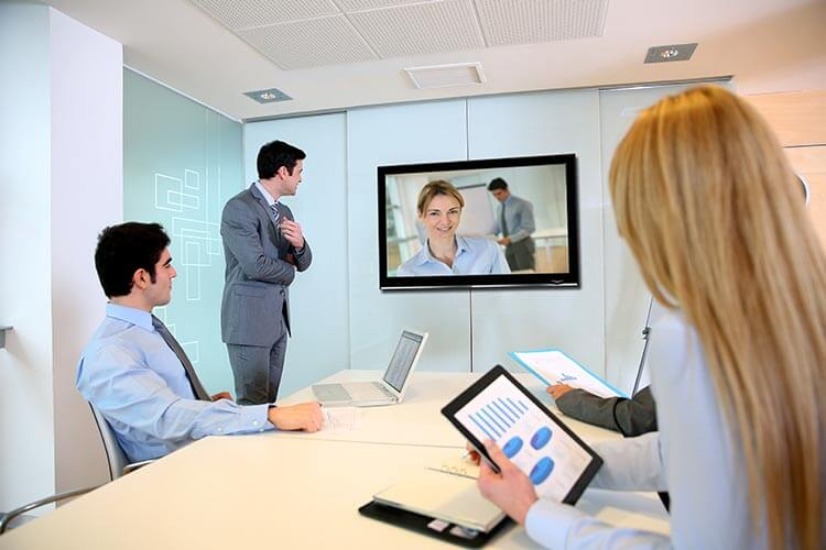 Typical Videoconferencing Room Setup
