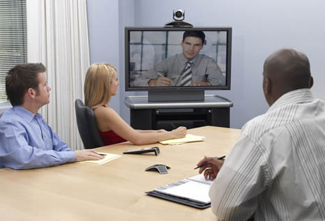 Polycom HDX 6000 in Meeting Room