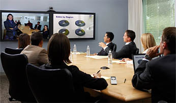 Polycom HDX 8000 - Used in a Meeting Room